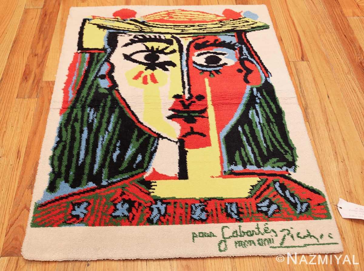 vintage pablo picasso rug 46873 whole Nazmiyal