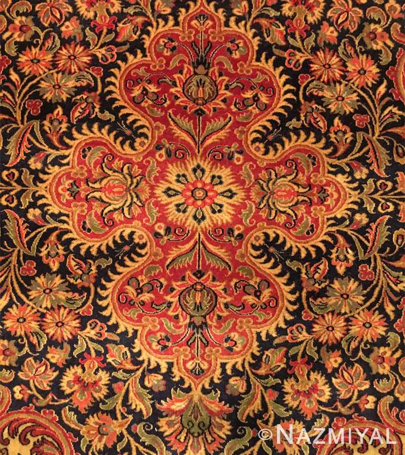 Detail 1 - Vintage Persian Qum Rug 50326