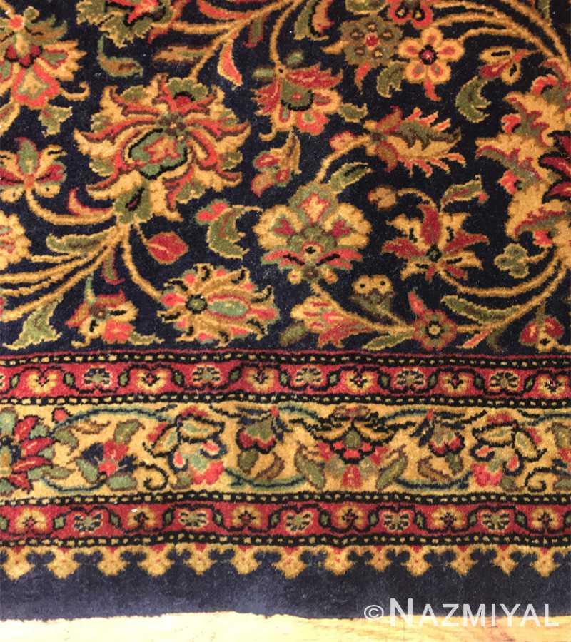 Detail 2 - Vintage Persian Qum Rug 50326