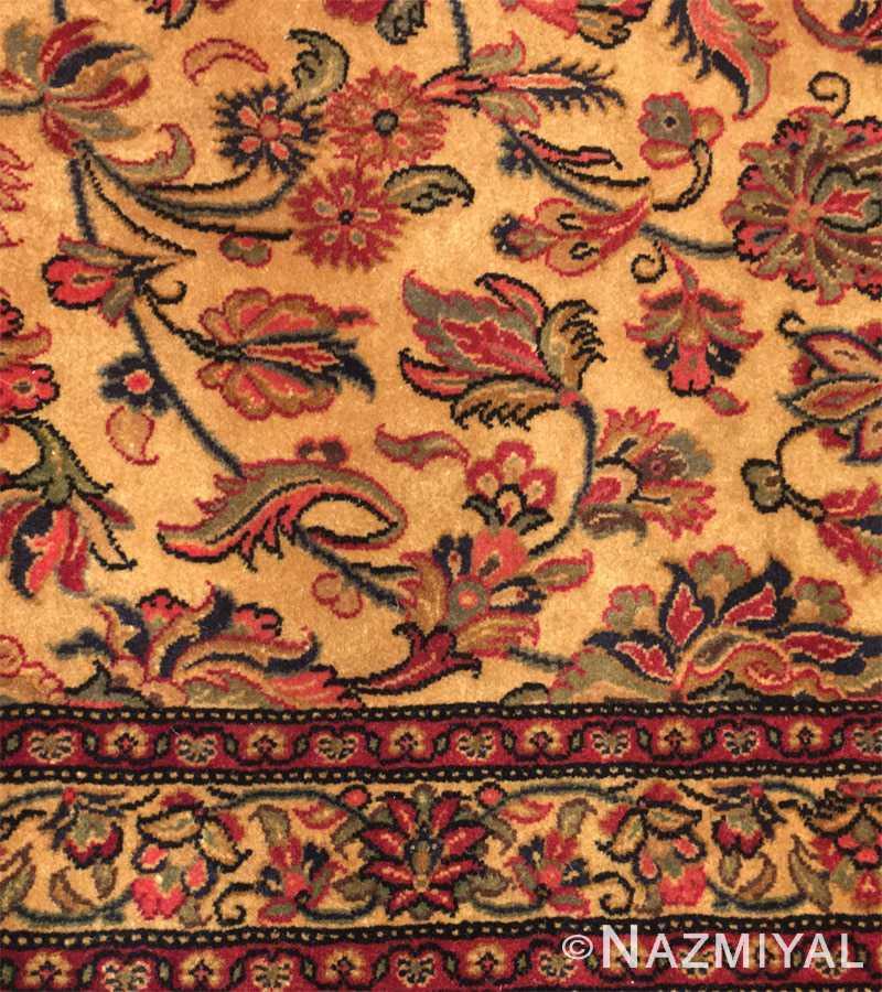 Detail 3 - Vintage Persian Qum Rug 50326