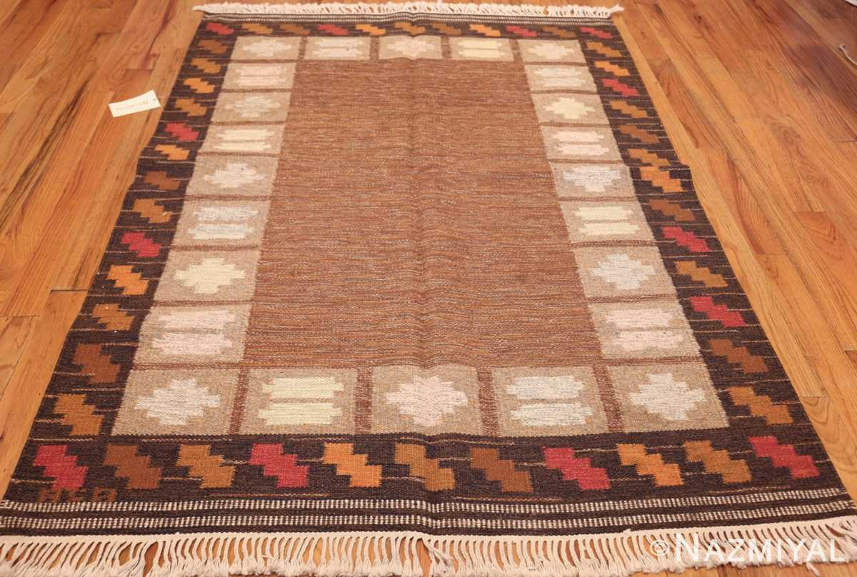vintage swedish kilim by ana joanna angstrom 48562 whole Nazmiyal