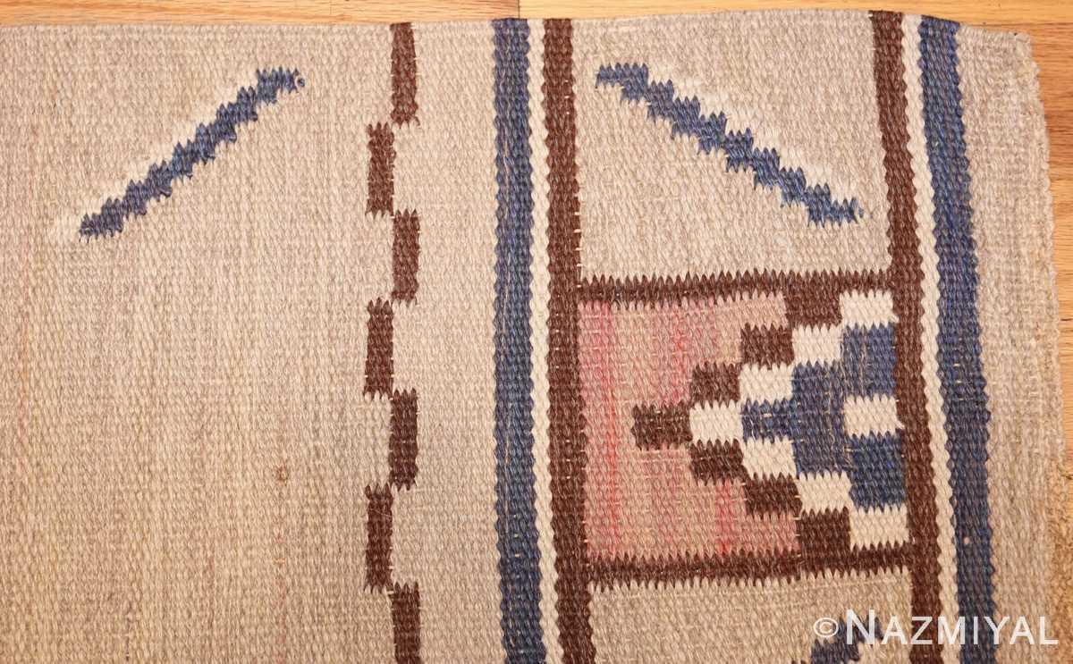 vintage swedish rug by ellen stahlbrand 47003 corner Nazmiyal