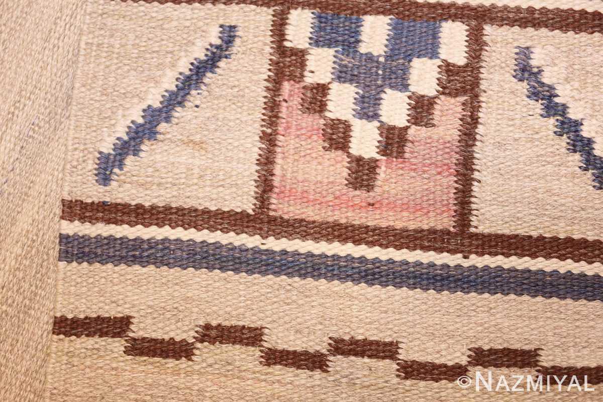 vintage swedish rug by ellen stahlbrand 47003 weave Nazmiyal