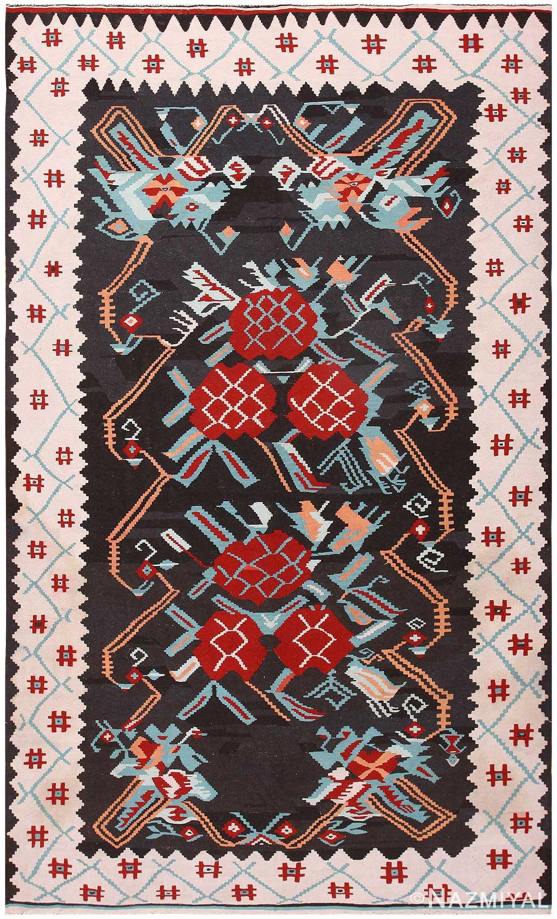 Vintage Turkish Kilim 50322 Detail/Large View