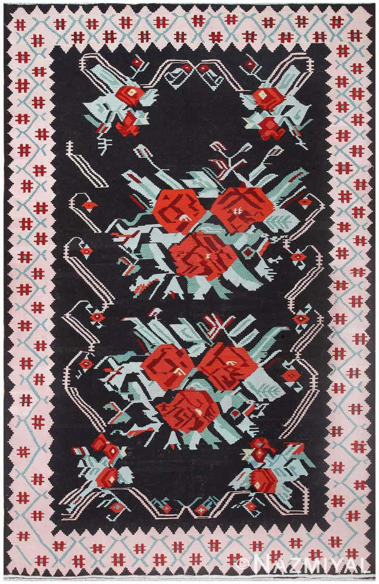 Vintage Turkish Kilim 50323 Detail/Large View
