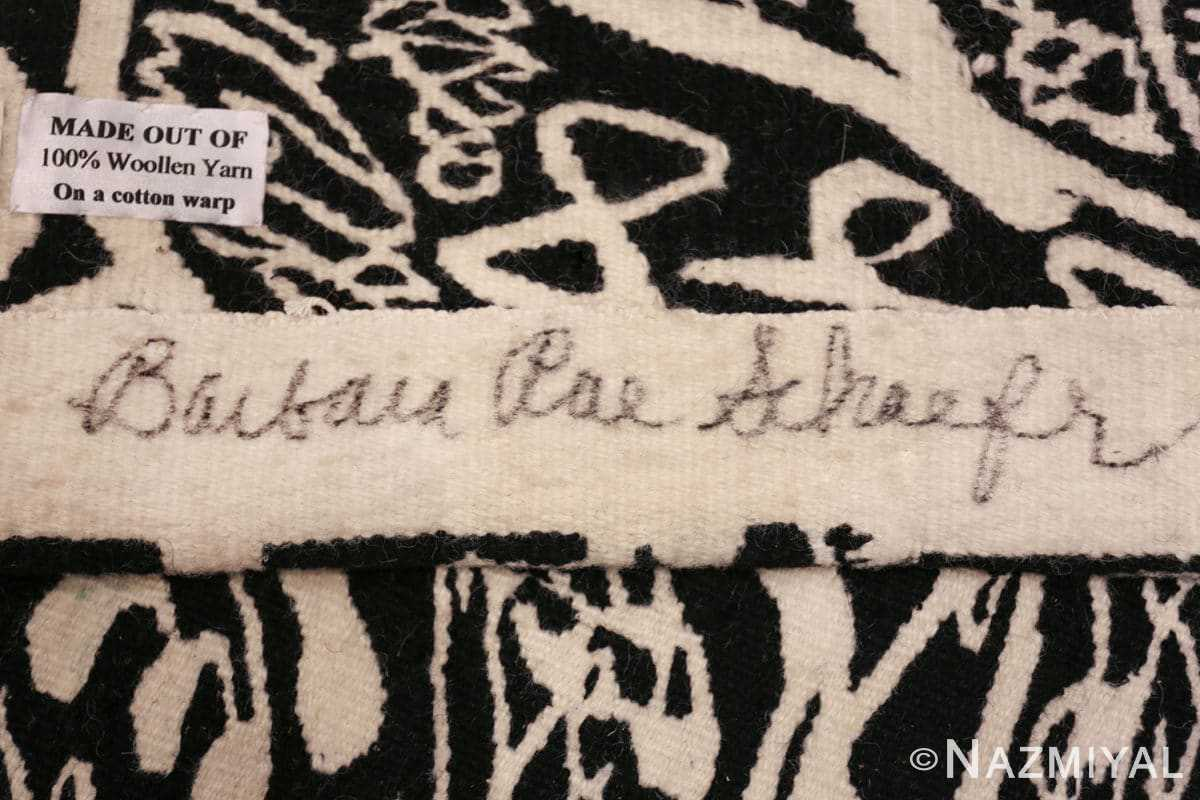 vintage voice of a dead sea scroll tapestry by barbara rae Sschaefer 48573 signature Nazmiyal