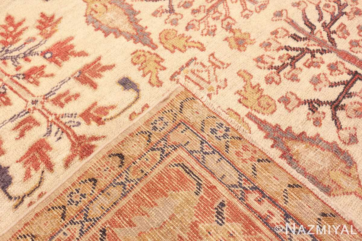 Weave Antique Ivory Persian Sultanabad rug 50095 by Nazmiyal