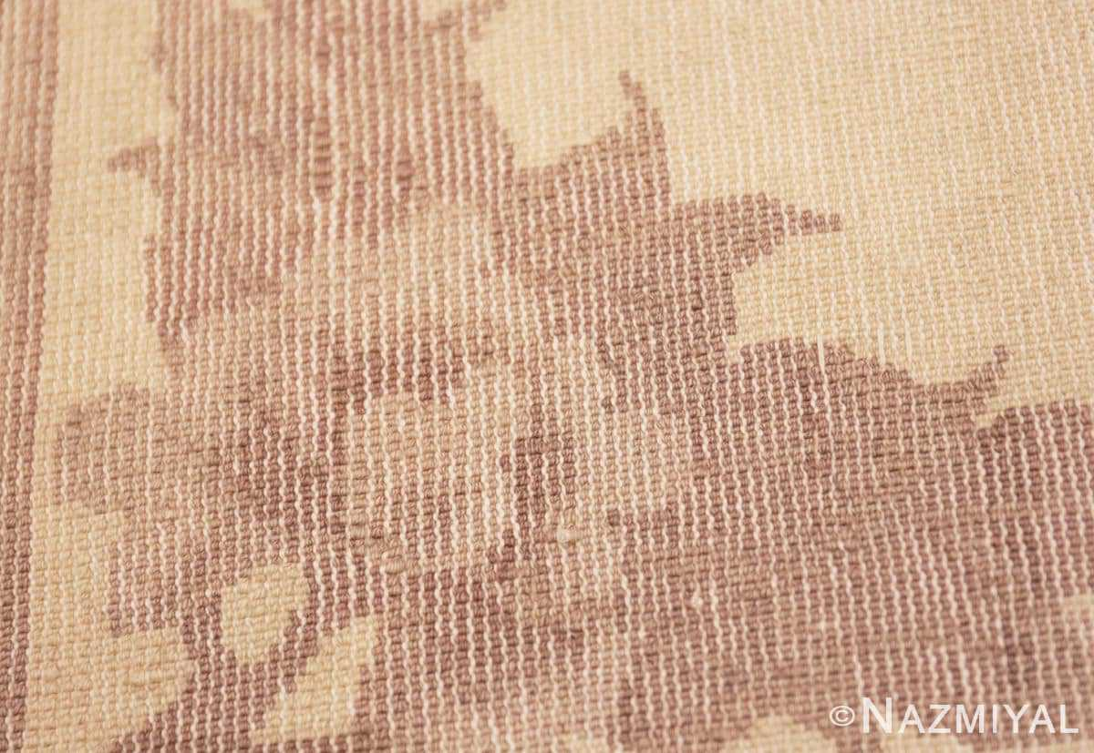 Weave detail Decorative Small Antique Chinese Carpet 47199 by Nazmiyal
