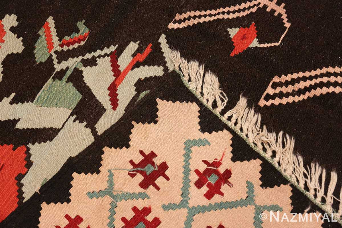 Weave Vintage Turkish Kilim 50323 by Nazmiyal