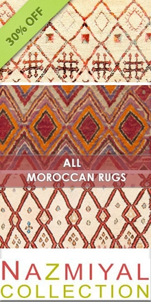 Take an Additional 30% Off All Our Vintage Moroccan Rugs