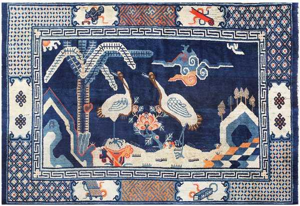 Antique Chinese Carpet 48435