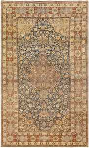Antique Persian Isfahan Rug 50333 Detail/Large View
