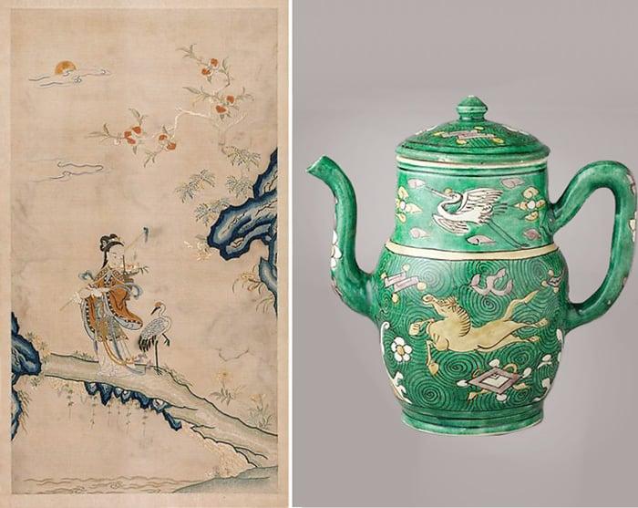 Cranes in Chinese Art - Nazmiyal