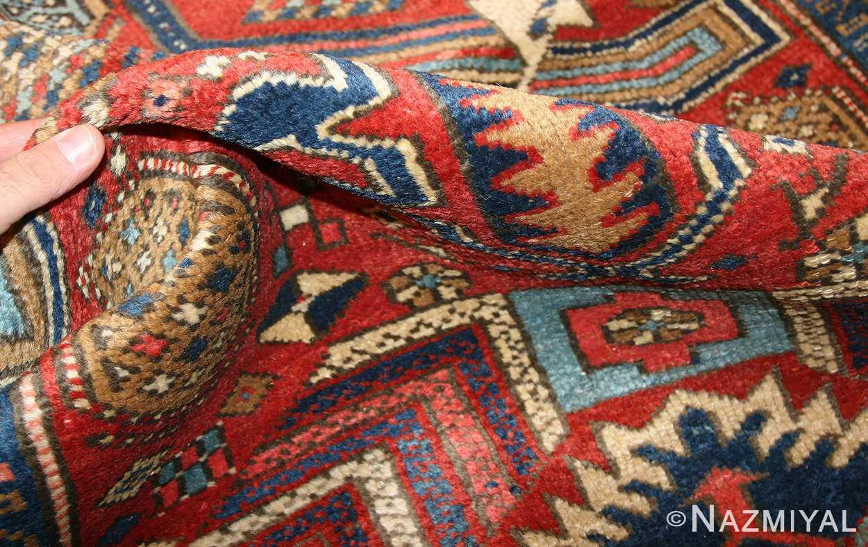antique heriz persian runner rug 50175 pile Nazmiyal