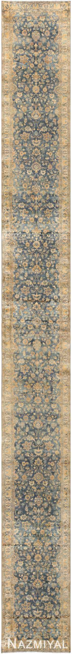 Antique Persian Kerman Runner 48267 Nazmiyal