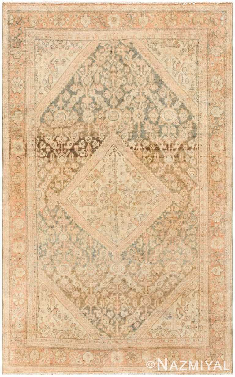 Antique Persian Mahal Rug 50287 Detail/Large View