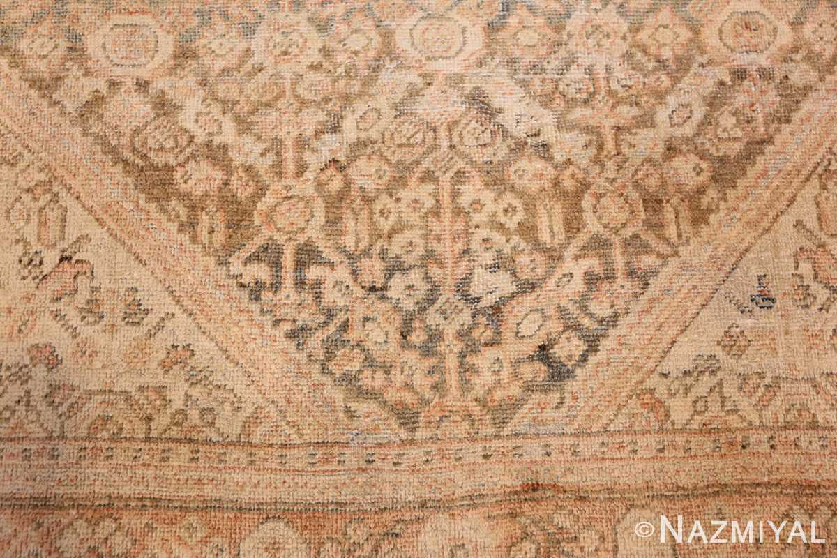 antique persian mahal rug 50287 down Nazmiyal