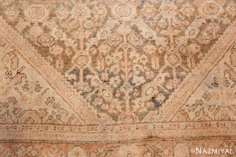 antique persian mahal rug 50287 down Nazmiyal