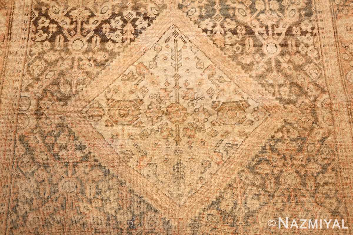 antique persian mahal rug 50287 medallion Nazmiyal