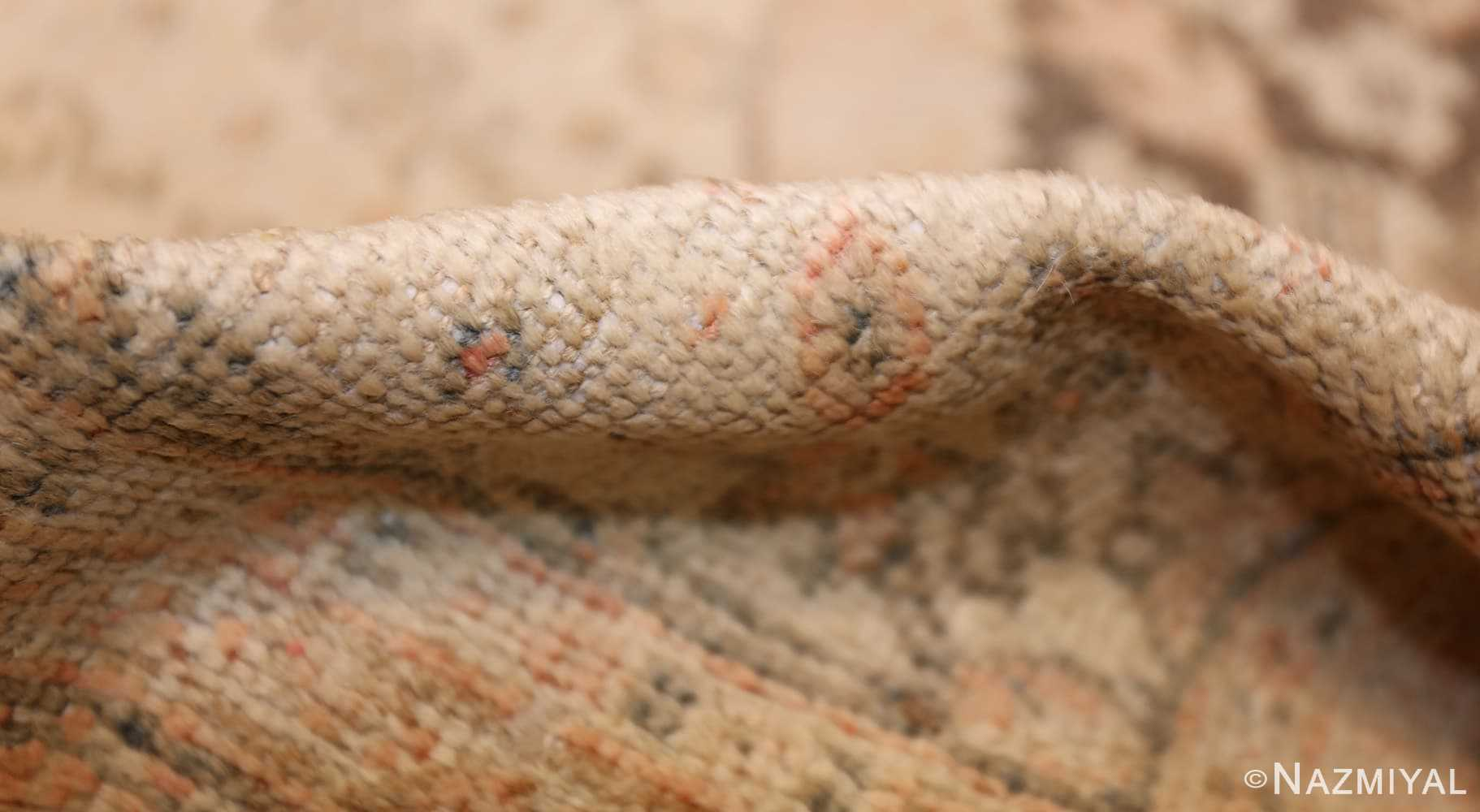 antique persian mahal rug 50287 pile Nazmiyal
