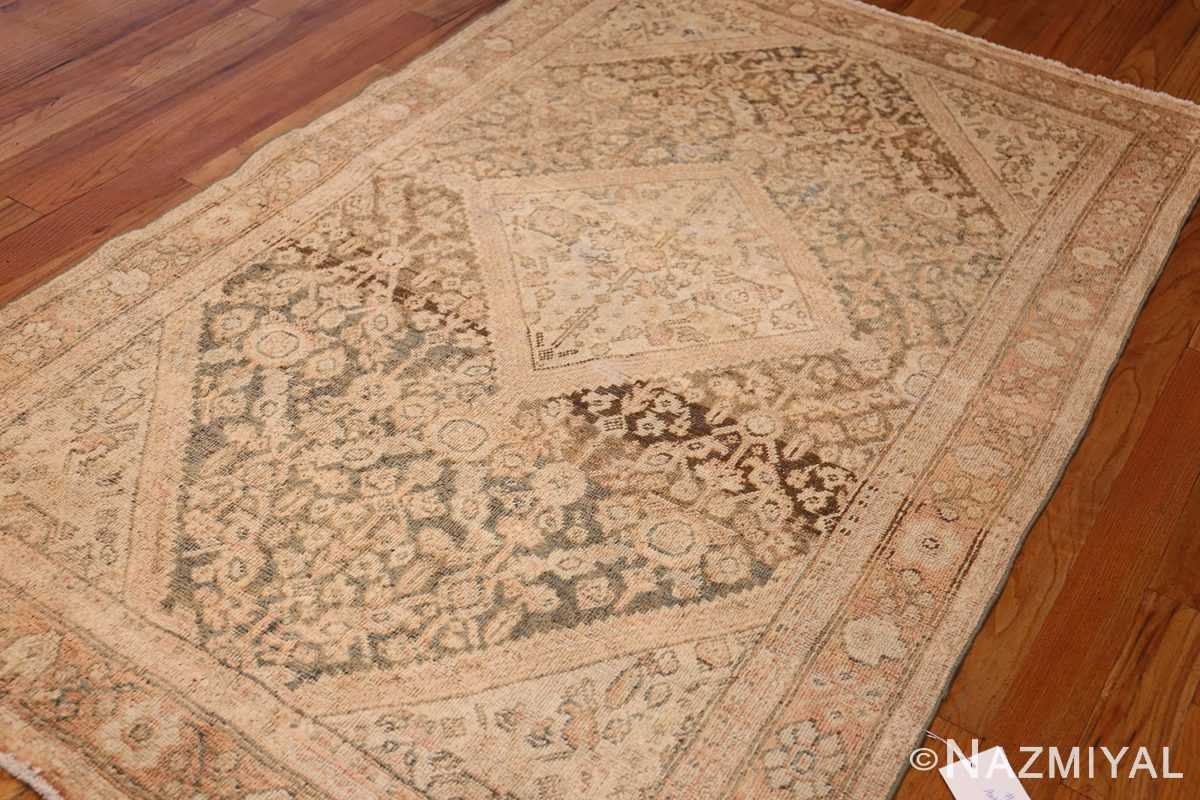 antique persian mahal rug 50287 side Nazmiyal