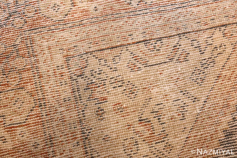 antique persian mahal rug 50287 weave Nazmiyal