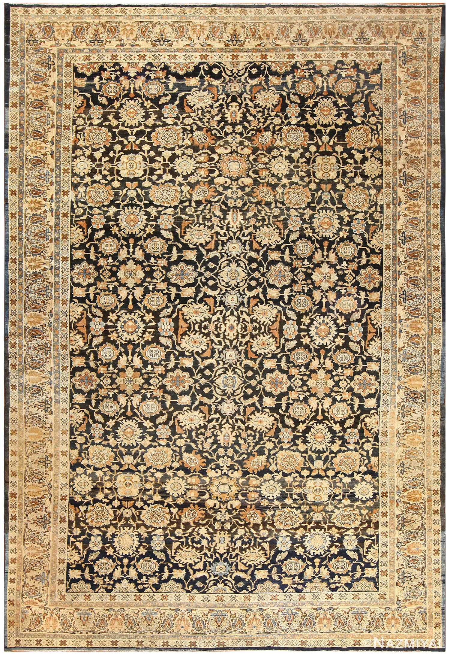Antique Persian Malayer Rug 48387 Detail/Large View