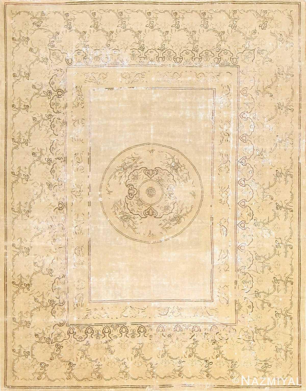 Antique Shabby Chic Chinese Carpet 47580 Nazmiyal