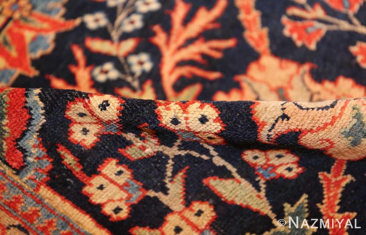 blue antique vase design persian tabriz rug 48569 pile Nazmiyal