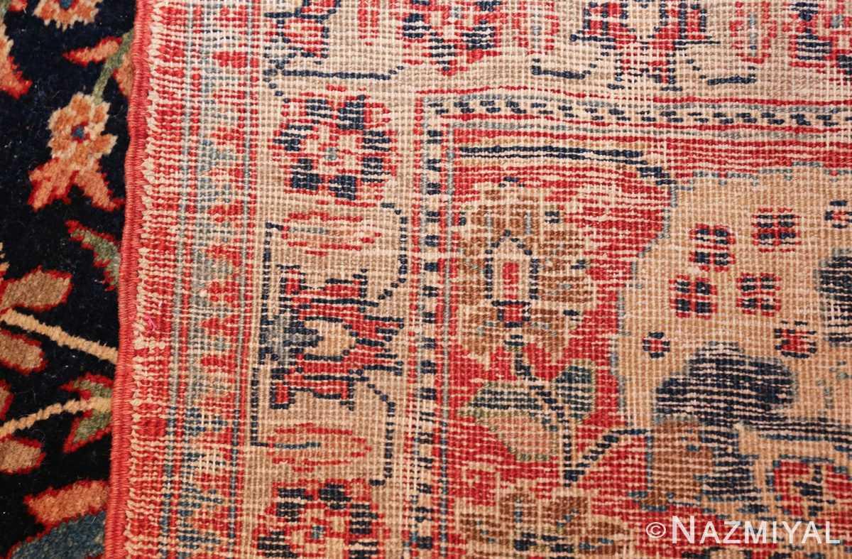 blue antique vase design persian tabriz rug 48569 weave Nazmiyal