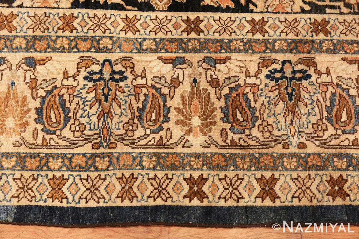 Border Antique Persian Malayer rug 48387 by Nazmiyal