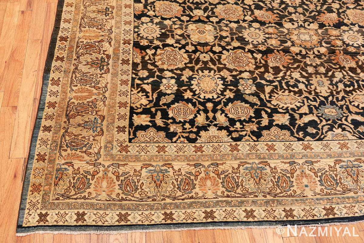 Corner Antique Persian Malayer rug 48387 by Nazmiyal