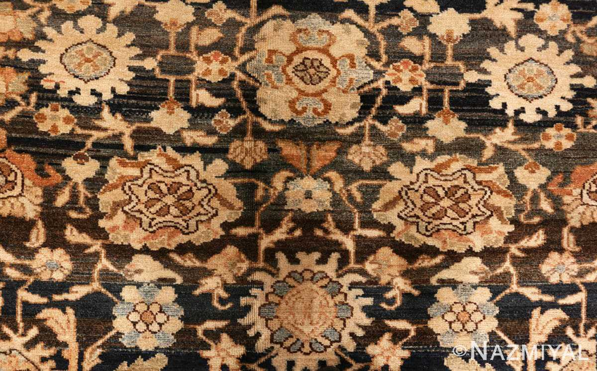 Close up Antique Persian Malayer rug 48387 by Nazmiyal