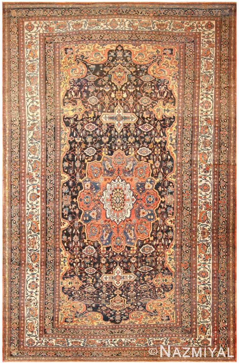 Extra Large Antique Persian Bakhtiari Carpet 50120 Nazmiyal
