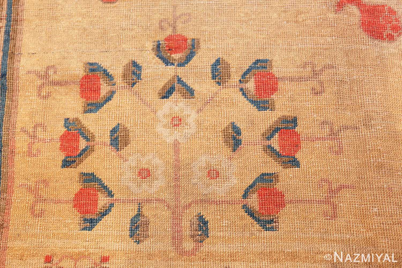 oversize antique samarkand khotan rug 50200 bunch Nazmiyal