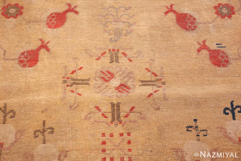 oversize antique samarkand khotan rug 50200 closeup Nazmiyal