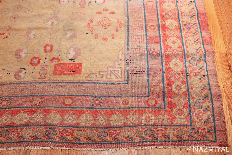 oversize antique samarkand khotan rug 50200 corner Nazmiyal