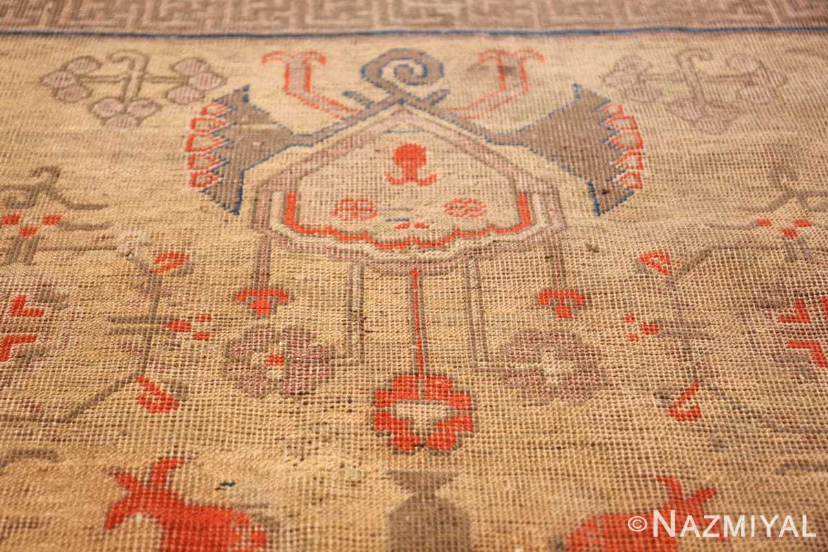 oversize antique samarkand khotan rug 50200 design Nazmiyal