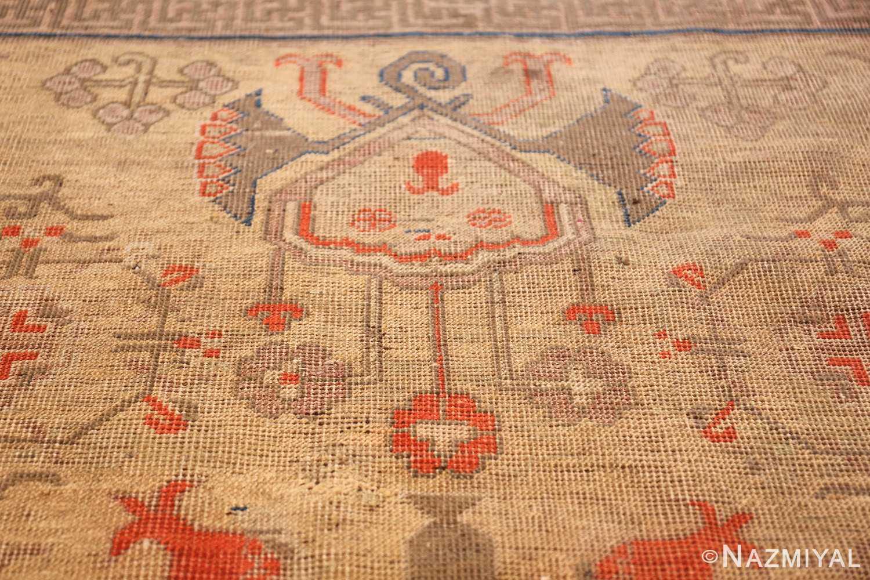 oversize antique samarkand khotan rug 50200 design Nazmiyal