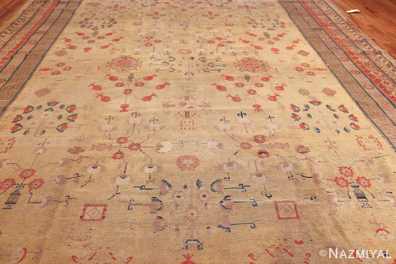oversize antique samarkand khotan rug 50200 field Nazmiyal