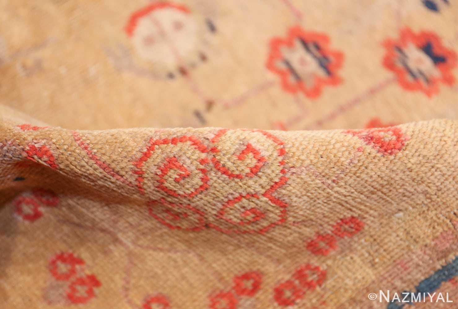 oversize antique samarkand khotan rug 50200 pile Nazmiyal