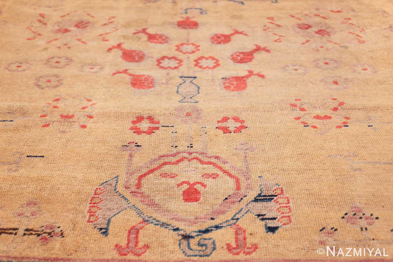 oversize antique samarkand khotan rug 50200 shape Nazmiyal