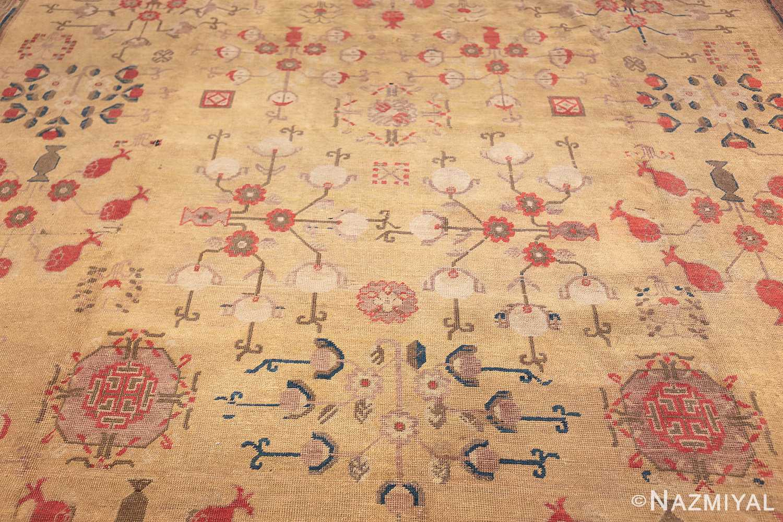 oversize antique samarkand khotan rug 50200 top Nazmiyal