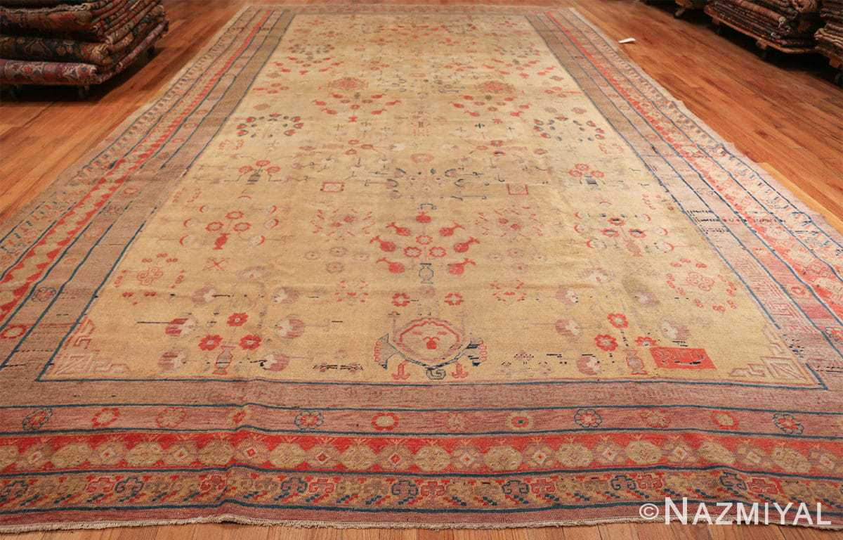 oversize antique samarkand khotan rug 50200 whole Nazmiyal