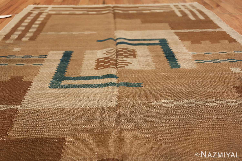 vintage scandinavian swedish kilim rug 48558 field Nazmiyal