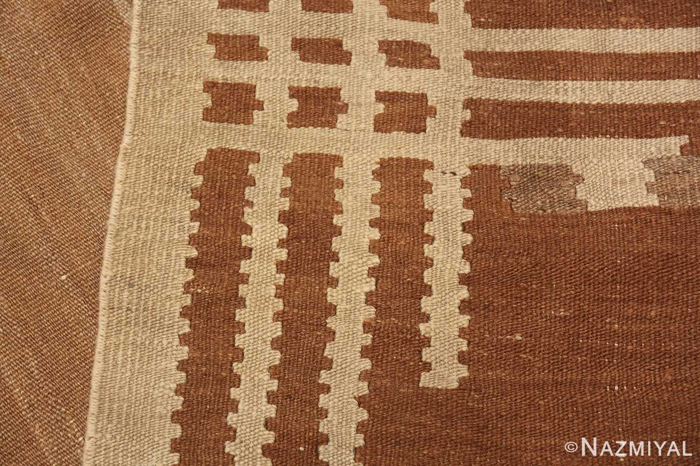vintage scandinavian swedish kilim rug 48558 knots Nazmiyal
