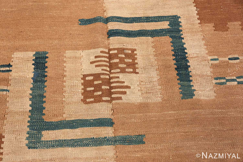 vintage scandinavian swedish kilim rug 48558 middle Nazmiyal