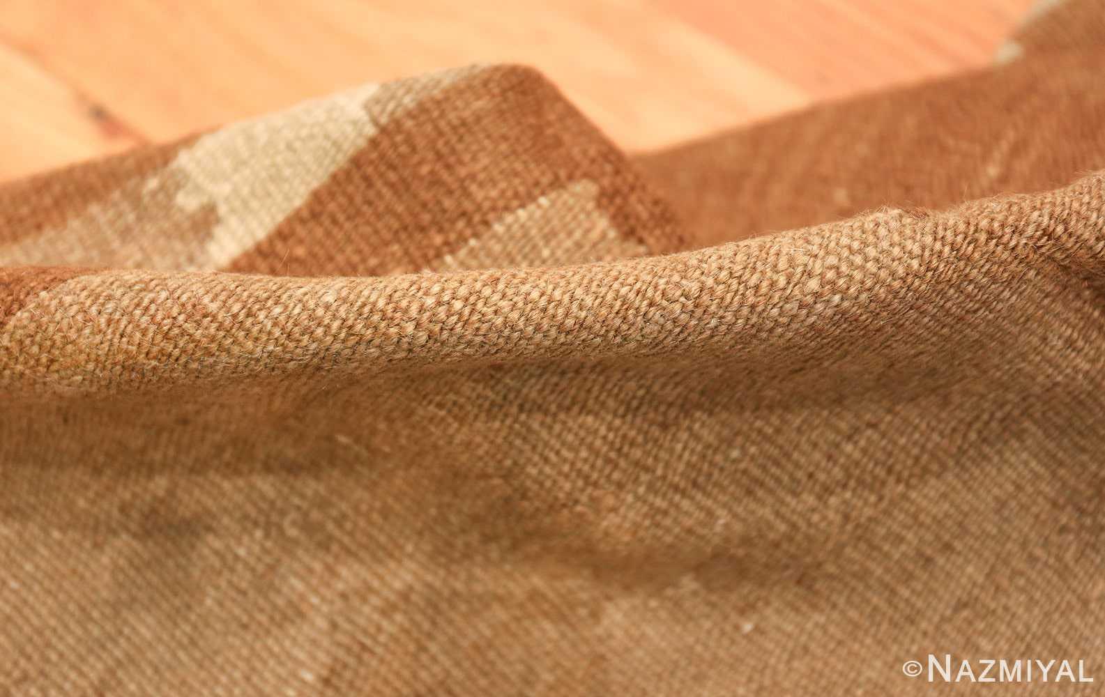 vintage scandinavian swedish kilim rug 48558 pile Nazmiyal