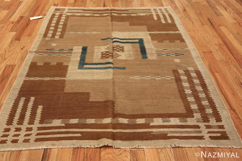 vintage scandinavian swedish kilim rug 48558 whole Nazmiyal