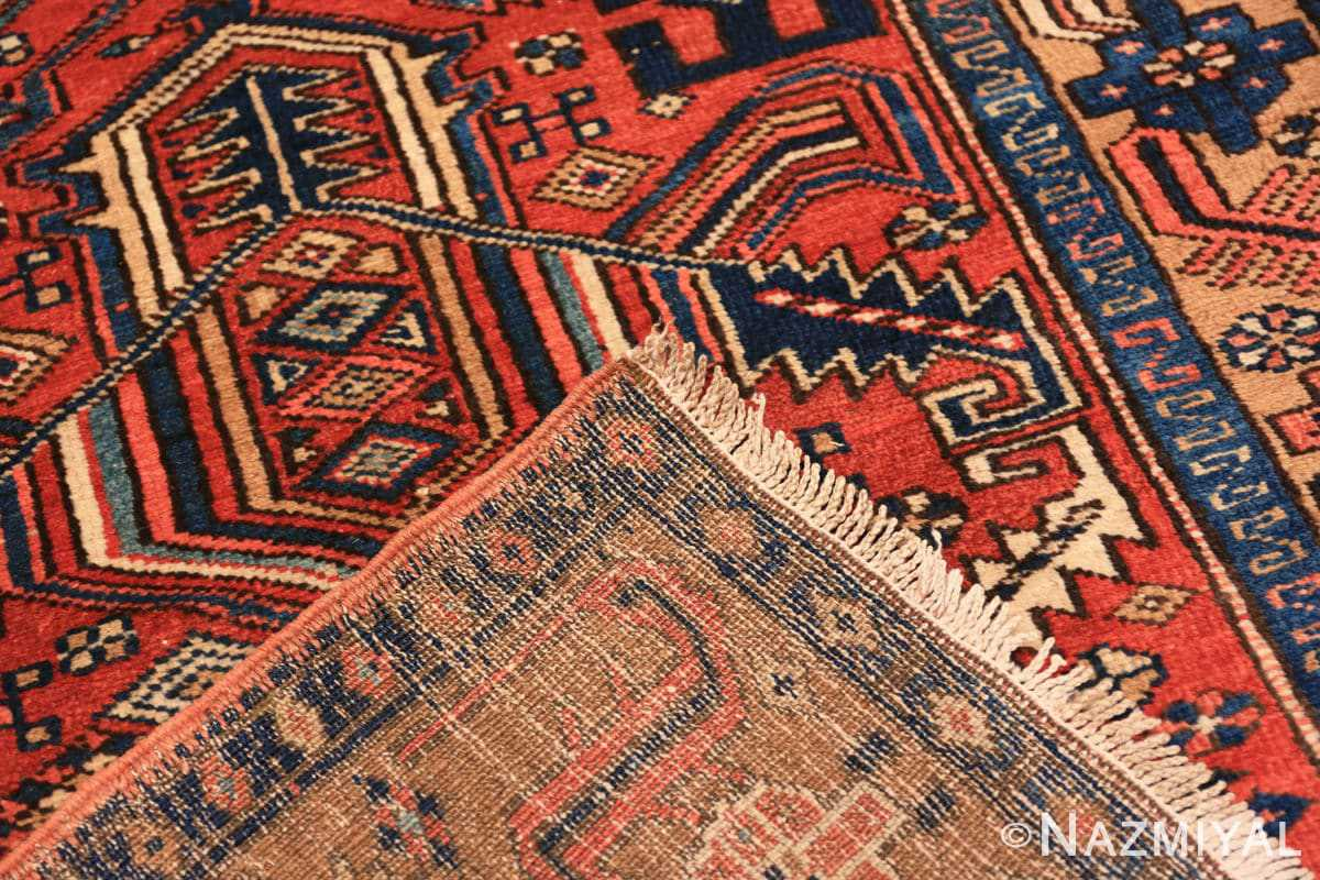 Weave Antique Heriz Persian runner rug 50175 by Nazmiyal